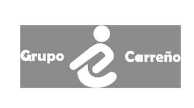 Logo Grupo Carreño blanco